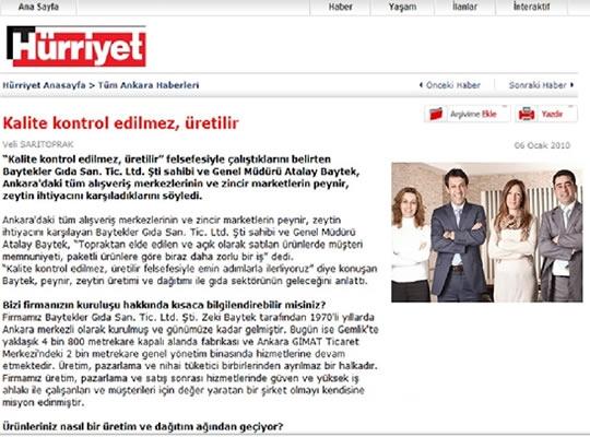 Hürriyet Gazetesi Ankara