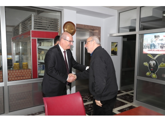 From ATO President Mr. Gürsel Baran's Visit to Our Company